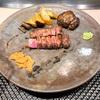 ニュー松坂 難波御堂筋店でハンバーグとステーキのアニバーサリーランチを頂いてきました