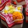 お花とラズベリーのヴェリーヌのレシピ【エディブルフラワー】