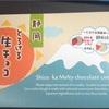 磐田の美味しい、クッキー? 静岡とろける生チョコクッキー!