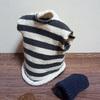 【ミニチュア衣服】簡単なニット帽とベストの作り方