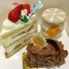 クリスマスだから、ケーキ三昧。
