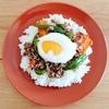 【丼】オイスターソースで激うまひき肉丼温玉乗せ【レシピ】