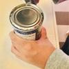 『息子、初めての缶切り』