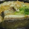 クエ鍋。幻の高級魚だけあって旨い。ほんと旨い。
