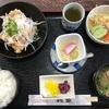 「鶴亀」の日替わりランチ「からあげ南蛮」  GoToEat食事券を使って