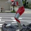 須賀川市 ウルトラマン通り&福島空港を散策