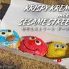 "Super cute donuts!! ""KRISPY KREME meets SESAME STREET"" @YURAKUCHO"