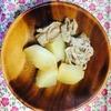 豚ばら肉と大根の煮物