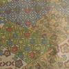 着物生地(167)切りばめ風花に古典柄織り出し十日町紬