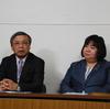 22日、県議選候補者2人の第二次発表。会津若松で古川芳憲さん、須賀川岩瀬で丸本由美子さん。