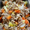 豚肉と白菜のピリ辛旨煮
