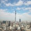 錦糸町 アルカキットからのスカイツリータワー