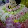 氏家駅の雛人形