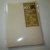 トラベラーズノート パスポートサイズ 005軽量紙