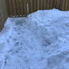 雪掻きを頑張りました
