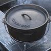 ダッチオーブンのシーズニング方法