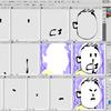 静止画のアイコン画像を動くGIFアニメアイコンにする:作成編(1)Photoshopでパーツを分解する