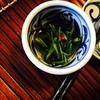 壬生菜の漬物を作る。