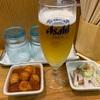 味噌麺処 花道 『あえめん ライス ビール フライドガーリック 野菜大盛り』
