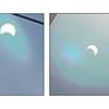 6月21日 部分日食を観測