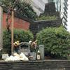 宇田川町の慰霊碑