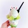 アイスクリームショップTsubomi @白楽 シャリシャリメロンが美味しいメロンパフェ
