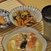 子鰺の南蛮漬け、のどぐろ塩焼き、味噌汁