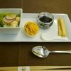 キャビアの正しい食べ方?!JALFクラスNRT-CGK