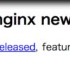 nginx unit-1.4 リリース !!