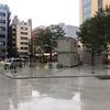 中池袋公園にアニメイトカフェが建設中で地面もコンクリになる!