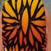 Nail Art 86 - Orange