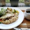 ukafe @六本木 ファストザイム米の酵素玄米プレートランチ