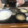 禁酒日のディナー(吉野家)