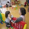 3年ぶりの、大きい子たちの託児室保育