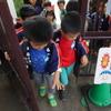 今日の幼稚園は・・