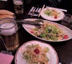 ★インド料理店のサラダ