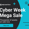 【Unity】「Cyber Week Mega Sale」で 12/8(土)の 16:59 まで安く買えるオススメのアセット 28 個紹介