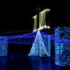 名古屋港ガーデン埠頭の華やかなイルミネーション