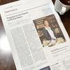 Japan Times alpha/ジャパンタイムズαに掲載されました!