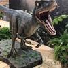 ラプトルにうっとり、阪急うめだで恐竜のイベント