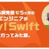 iOS開発歴5ヶ月のエンジニアがtry! Swiftに行ってみた話。