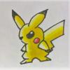 動画内で描いたイケメンピカ様です。Cool Pikachu drawn in the video.