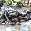 #バイク屋の日常 #洗車すると雨 #ホンダ #シャドウ400 #NC34 #悲しい