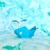 """水しぶきも折り紙で!ライアン・ドンさんの「クジラ」/""""Whale"""" designed by Ryan Dong"""