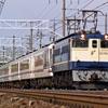 2001年1~3月期の鉄道汚写真 やすらぎ・EF58・多めの赤ホキ