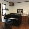 グランドピアノが戻ってきました!
