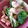 超簡単!すぐ完成【冷凍ブロッコリー&冷凍エビ】を使ったマヨサラダ