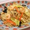 簡単!!海鮮五目焼きビーフンの作り方/レシピ