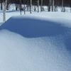 滔々と白い雪は
