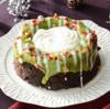 ローソンの緑のクリスマスリースのケーキを食べてみた。感想まとめ。